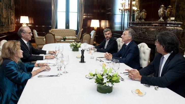 A horas del fallo de la Corte sobre las jubilaciones, Macri almorzó con Rosenkrantz y Highton de Nolasco