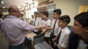 Sameep llevó su stand a la exposición anual del Colegio Industrial