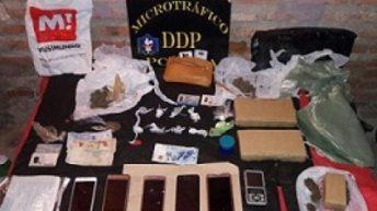 Secuestraron cocaína, marihuana y hay dos aprehendidos