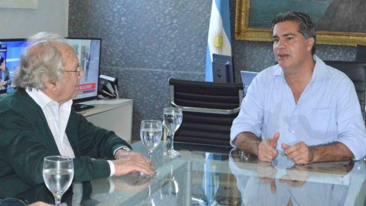 Capitanich recibió al Premio Nobel Adolfo Pérez Esquivel