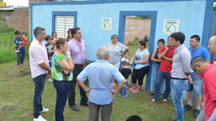 Carpincho Macho y 16 de Setiembre: Capitanich supervisó trabajos comunales