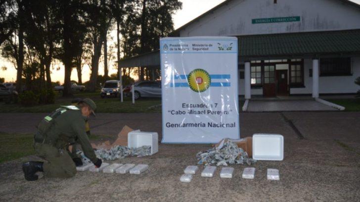 Corrientes: secuestran más de 64 kilos de marihuana