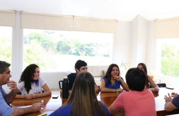 El intendente recibió al FUP, que recuperó Humanidades para el peronismo tras 25 años 1