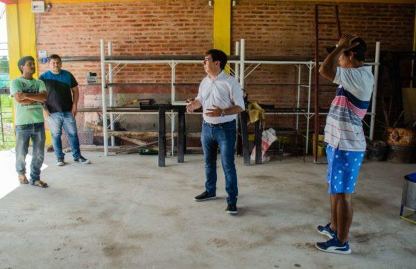 La Rubita: Martínez y el Movimiento de Trabajadores Excluidos avanzan en un proyecto en beneficio de la comunidad 1