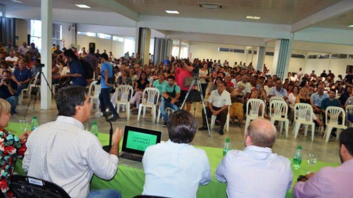 Las 300 comisiones vecinales y el Municipio trabajarán en una agenda en común de 11 programas