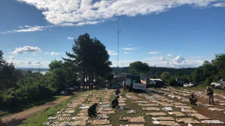 Misiones: casi seis toneladas de marihuana en un operativo en Puerto Maní