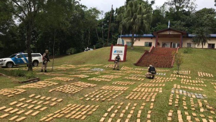 Misiones: Prefectura interceptó otro cargamento de 1800 kilos de marihuana