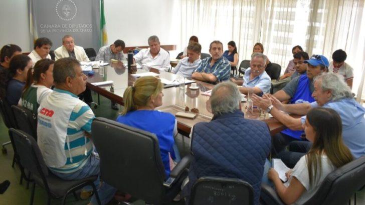 Presupuesto 2019: sindicalistas llevaron su preocupación a los diputados