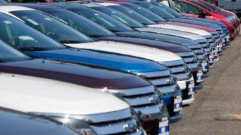 Recesión: fuerte caída en la venta de autos y motos