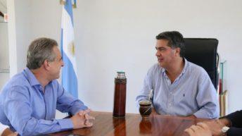 Capitanich y Agustín Rossi con quien analizó la realidad nacional