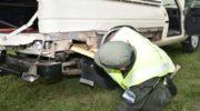 Trasladaba 149 kilos de marihuana ocultos en un doble fondo de su camioneta