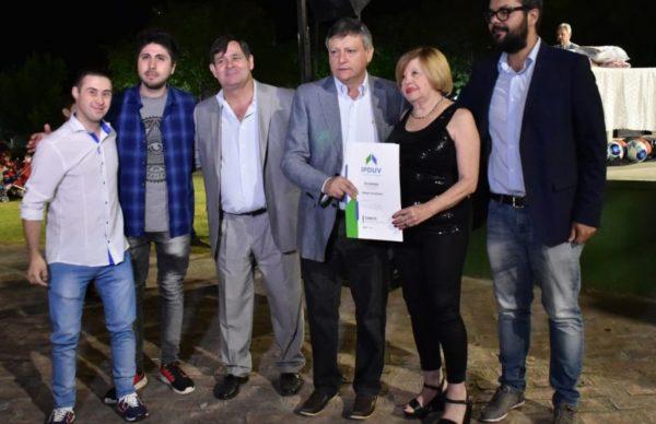 130° aniversario de Basail: entregaron títulos de vivienda y anunciaron importantes obras para 2019 1