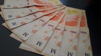 Advierten sobre la circulación de billetes de mil pesos falsos