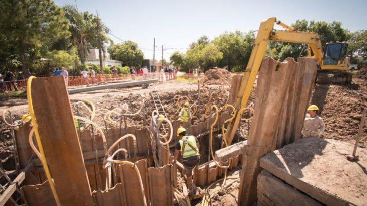 Sameep efectúa reparaciones en el pozo de bombeo Mariano Moreno