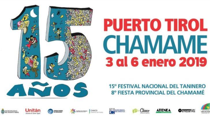 Se viene el 15° Festival Nacional del Taninero y la 8° Fiesta Provincial del Chamamé