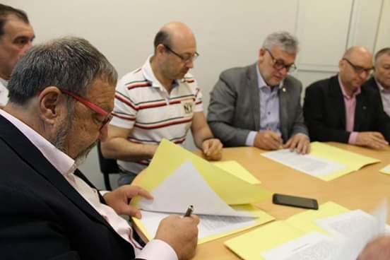 Sameep firmó convenio con APA y universidades para innovación y desarrollo tecnológico