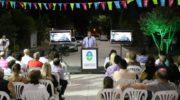 Con seis cuadras de pavimento en Villa Ercilia, Capitanich inició una semana de inauguraciones