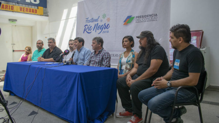 Concejo: se presentó el Festival del Río Negro para generar conciencia ambiental
