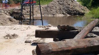 Construyen nuevo puente en camino a Colonia Tacuarí
