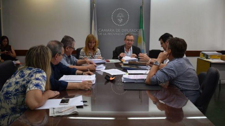 Diputados de Hacienda recibieron a sectores con reclamos presupuestarios