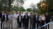 En el aniversario de Presidencia Roca, Peppo entregó títulos, inauguró un jardín de infantes y pavimento