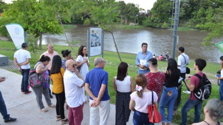 """En el Paseo Costero, se inauguró la muestra """"Narrativas Urbanas"""""""