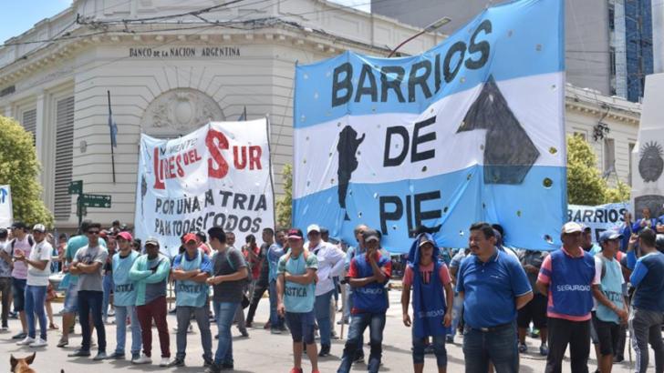 """Este miércoles, Barrios de Pie se moviliza """"por una fiesta sin hambre"""""""