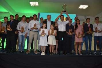 Fiesta anual del deporte: Peppo destacó los valores sociales que las disciplinas deportivas promueven