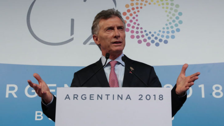 """Macri, en el cierre del G20: """"todo el futuro pasa por comerciar"""""""