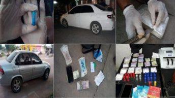 Narcotráfico: varios detenidos y secuestro de 1 kilo de cocaína, armas, dinero y vehículos