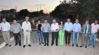 Pampa del Infierno: Peppo inauguró obras en el marco del aniversario