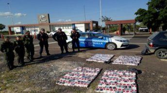 Puente General Belgrano: lo atraparon llevando cigarrillos de contrabando