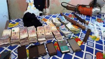 Puerto Vilelas: secuestraron más de 190 mil pesos y 79 dosis de cocaína