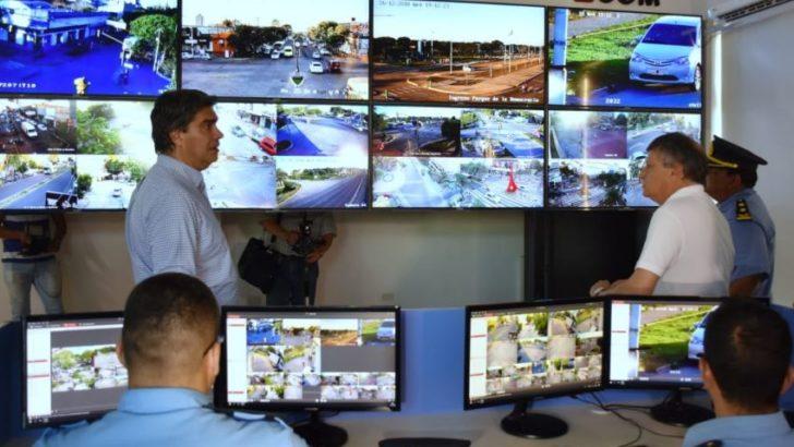 Se inauguró el nodo central de videovigilancia de la provincia