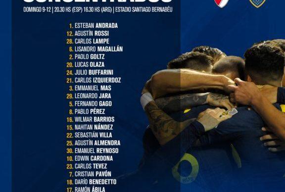 Superfinal: Boca celebra la recuperación de Ábila y Gallardo paró los mismos 11 1