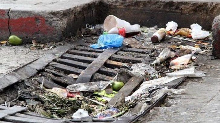 Ambiente insta a la población a no arrojar residuos en la vía pública