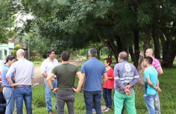 Barrio Golf Club: el Municipio articula con vecinos un plan de mejoramiento urbano