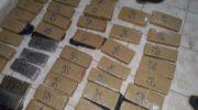 Charata: secuestraron 117 kilogramos de marihuana