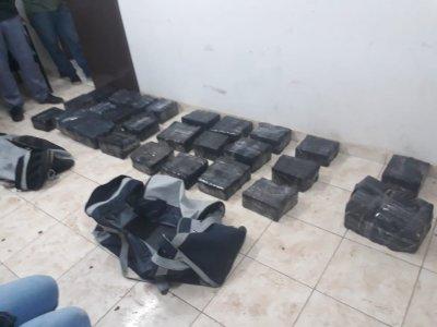 Charata: secuestraron 117 kilogramos de marihuana 1