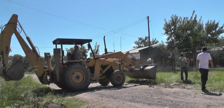 Concejo: Equipo Hábitat concretó un operativo de saneamiento en Villa Barberán