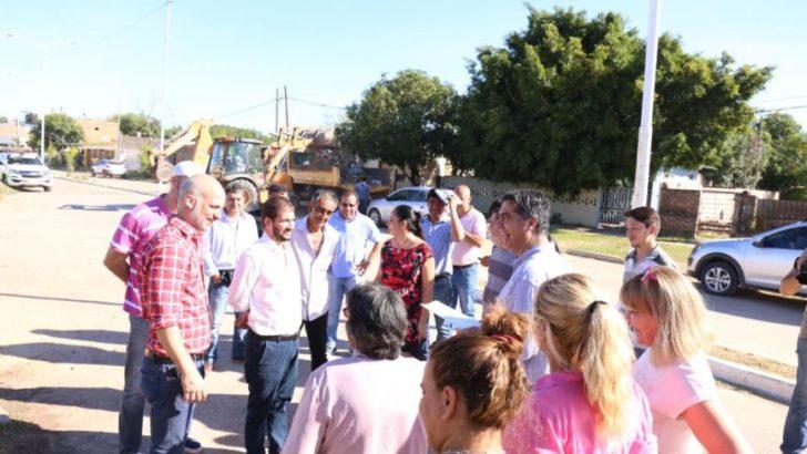 Continúan las tareas de mejoras integrales en Los Teros, Gobernador Ferré, Hermanos Che y La France