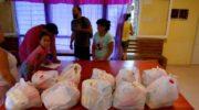 El Cecual llevó donaciones a barrios afectados por la inundación