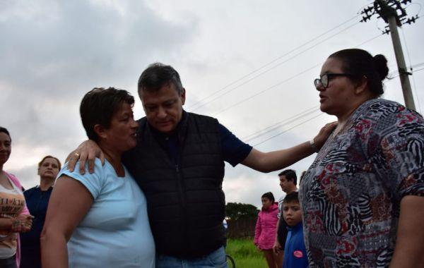 El Gobierno dispuso 40 millones de pesos para los municipios afectados por la emergencia