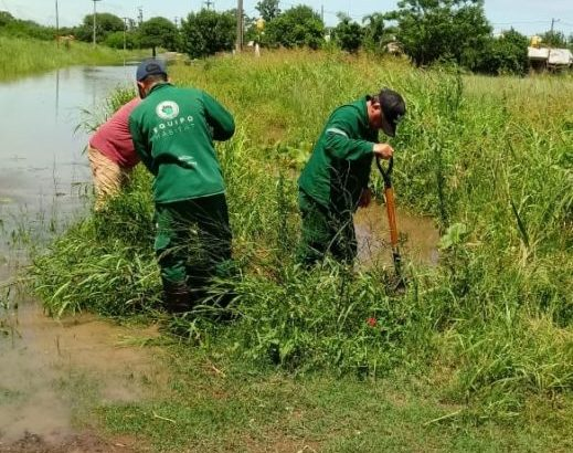 Emergencia hídrica: Equipo Hábitat colabora con operativos de saneamiento en zonas anegadas