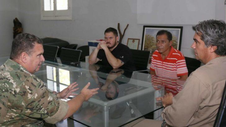 Emergencia Hídrica: Municipio y Ejército articulan acciones para brindar asistencia a las familias damnificadas