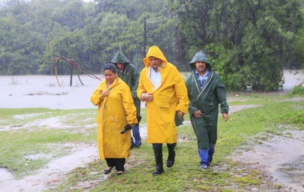 Emergencia hídrica: Peppo coordina acciones en terreno