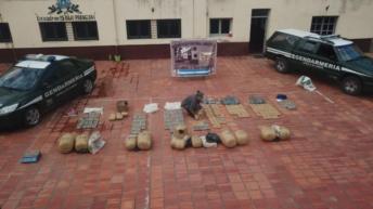 Formosa: desbaratan una organización narco y secuestran más de 276 kilos de marihuana