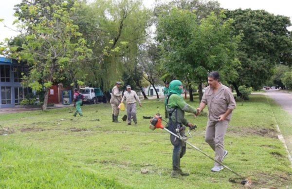Gran operativo municipal de limpieza integral para mitigar los efectos de las lluvias 2