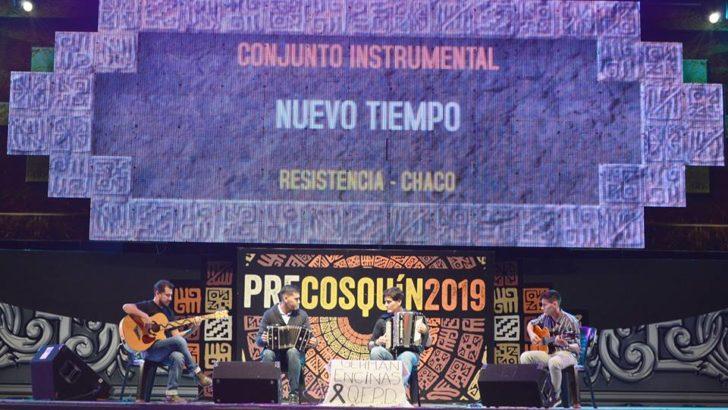 Guido Encinas y Nuevo Tiempo ganaron el Pre Cosquín y representarán a Resistencia