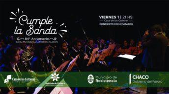 La Banda Municipal celebrará sus 84 años en Casa de las Culturas